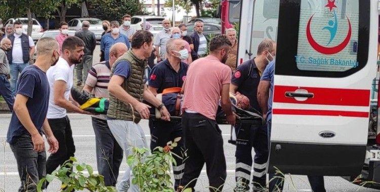Giresun'da trafik kazası: 5 yaralı