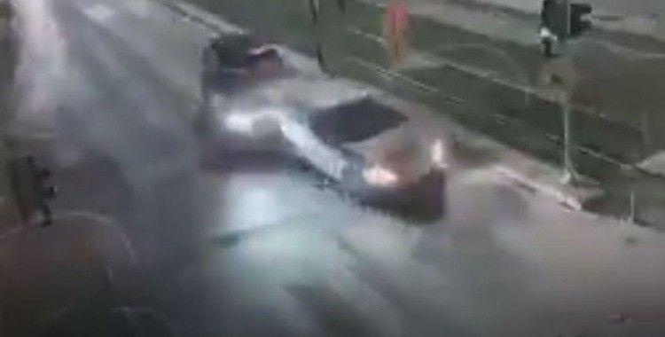 Gaziantep'te trafik kazaları kameralara yansıdı