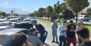 Van'da zincirleme trafik kazası; 1 yaralı