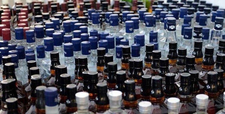 Jandarma 250 litre ev yapımı içki ele geçirdi
