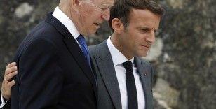 Macron ve Biden denizaltı krizini görüşecek