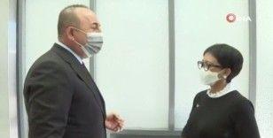 Dışişleri Bakanı Çavuşoğlu, Endonezya Dışişleri Bakanı Marsudi ile bir araya geldi