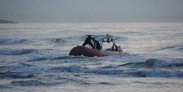 Denizde kaybolan 19 yaşındaki Yusuf'un cesedi 10 saat sonra kıyıya vurdu