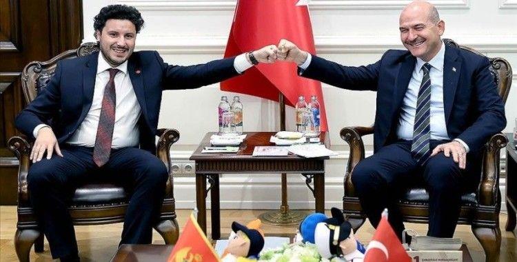 İçişleri Bakanı Soylu, Karadağ Başbakan Yardımcısı Abazoviç ile görüştü
