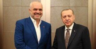 Erdoğan, New York'ta Arnavutluk Başbakanı Rama'yı kabul etti