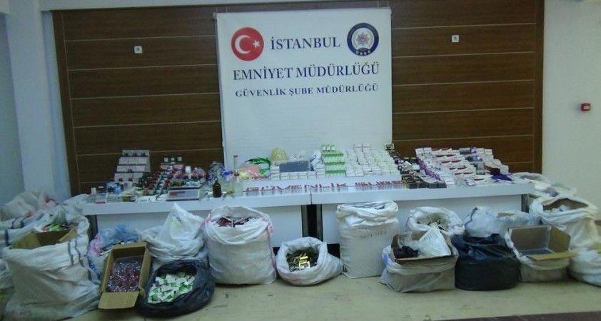 İstanbul'da sahte ilaç operasyonu: Aralarında Covid-19 ilacı da var