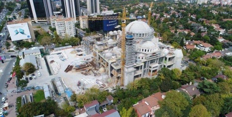 Barbaros Hayrettin Paşa Camii inşaatında sona gelindi!