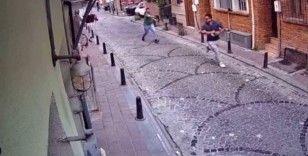 Sinemasal kurucusu Esen Kaya'ya silahlı saldırı kamerada