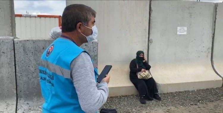 Virüslü kadın biletsiz bindiği otobüste seyahat ederken yakalandı
