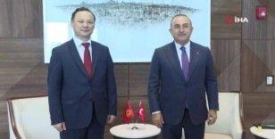 Dışişleri Bakanı Çavuşoğlu, New York'ta ikili temaslarını sürdürüyor