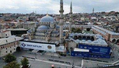 Eminönü'ndeki Yeni Cami'de restorasyon çalışmalarının yüzde 85'i tamamlandı