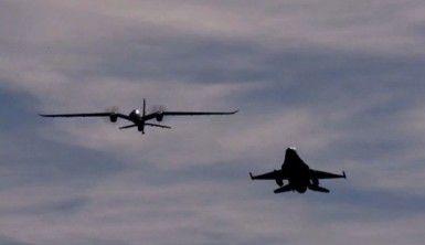 Akıncı ve F-16 ilk kez yan yana uçtu