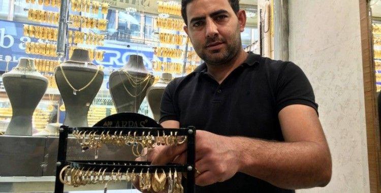 Gurbetçiler yaşadıkları ülkelere geri dönünce altın satışları düştü