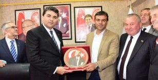 DP Genel Başkanı Uysal, Bozüyük İlçe Başkanlığı'nın açılışına katıldı