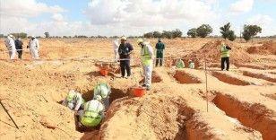 Libya'nın 'toplu mezarlar kenti' Terhune'de 10 ceset daha bulundu