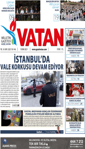 GüzelVatan E-Gazete - Ekim 2021