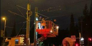 İstanbul'da tramvay arızası: Şehitlik durağı kapatıldı