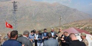 PKK'lı teröristlerin Daltepe ve Kalkancık köylerinde katlettiği 37 kişi anıldı