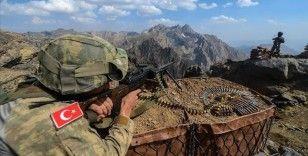 Avaşin-Basyan'da 12 PKK/KCK'lı terörist etkisiz hale getirildi