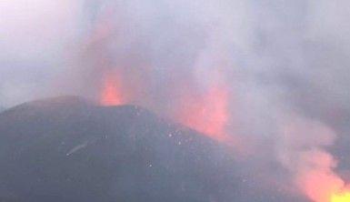 İspanya'da yanardağdan çıkan lavlar 434 hektarlık alana yayıldı