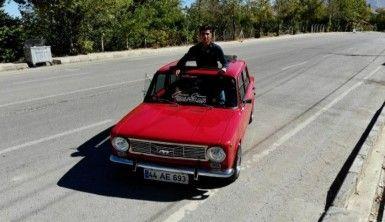 1974 model Murat 124 için 60 bin TL harcadı