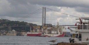 Yavuz Sondaj Gemisi Karadeniz'e hareket etti