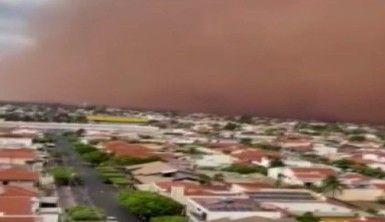 Brezilya'da kum fırtınaları devam ediyor