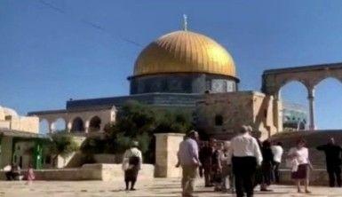 Fanatik Yahudiler'den Mescid-i Aksa'da ilk sessiz ibadet