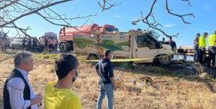 Isparta'da trafik kazasında 1 kişi öldü, 6 kişi yaralandı