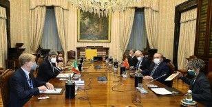 TBMM Başkanı Şentop, İtalya Temsilciler Meclisi Başkanı Fico ile görüştü