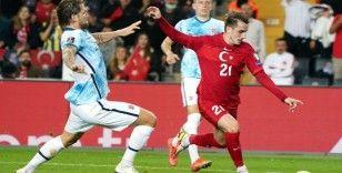 2022 Dünya Kupası Elemeleri: Türkiye 1 - Norveç: 1 (İlk yarı)