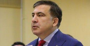 Gürcistan'da açlık grevini sürdüren eski cumhurbaşkanı Saakaşvili'nin sağlığı kötüleşti