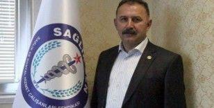 Sağlık-Sen Kastamonu Şube Başkanı Mehmet Öz: 'Sağlık çalışanları korku ve endişe içerisindedir'