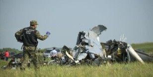 Tataristan'da paraşütçü taşıyan uçağın düşmesi sonucu 16 kişi hayatını kaybetti