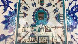 Rüstem Paşa Camii'nde bulunan 400 yıllık Kabe tasvirli çini pano