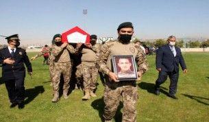 Şehidin cenazesi helikopterle Adıyaman'a getirildi