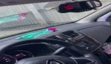 Beyoğlu'nda korsan taksi sürücüsü denetime takıldı