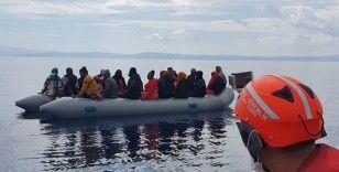 İzmir açıklarında 183 düzensiz göçmen kurtarıldı