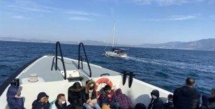 Bodrum'da 25 düzensiz göçmen yakalandı
