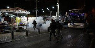 İsrail polisinden Kudüs'te Filistinli gençlere müdahale