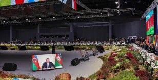 Azerbaycan Cumhurbaşkanı Aliyev: Aşı milliyetçiliğinden duyduğumuz memnuniyetsizliği açıkça ifade ediyoruz