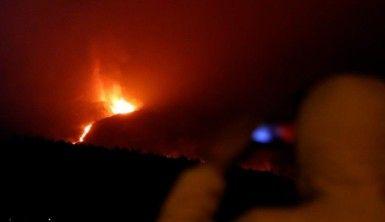 La Palma'da 700'den fazla kişi için tahliye emri