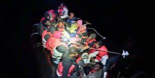 Bodrum açıklarında 49 göçmen kurtarıldı