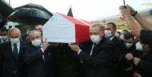 Cumhurbaşkanı Erdoğan AK Parti Milletvekili İsmet Uçma'nın cenazesine katıldı