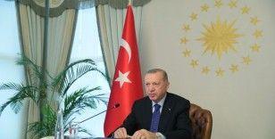 """Cumhurbaşkanı Erdoğan: """"G20 bünyesinde bir çalışma grubu oluşturulmasını öneriyorum"""""""