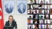 Bakan Özer, MEB yurt dışı bursiyerleri ile buluştu