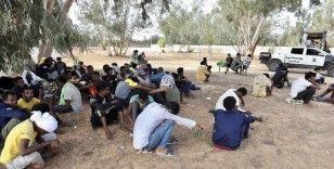 Libya'da barınma merkezlerinde hak ihlallerine maruz kalan göçmenler ülkeden güvenli çıkış istiyor