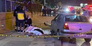 Ankara'da direksiyon hakimiyetini kaybeden sürücü refüje çarptı: 1 ölü