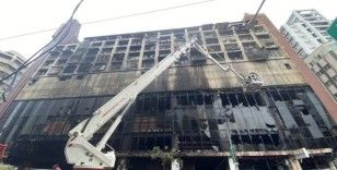 Tayvan'daki yangın faciasında can kaybı 46'ya yükseldi