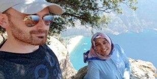 Hamile eşini kayalıklardan ittiği öne sürülen kocanın, tutukluluk haline devam kararı verildi
